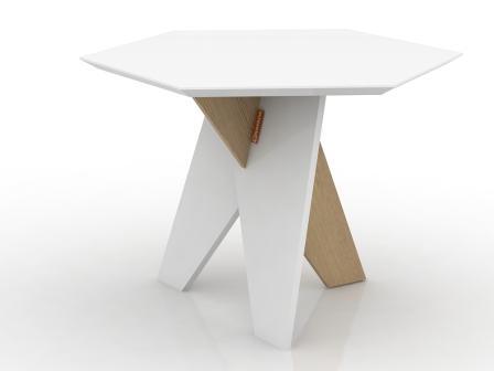 Стол с ножкой в шпоне