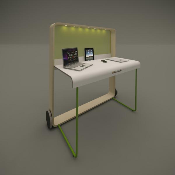 «Рабочее место для Open Space» - Катерина Вагурина из Мурманска, проектом Bow T.