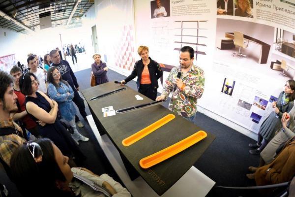 Презентация прототипа стола Владимира Кузьмина