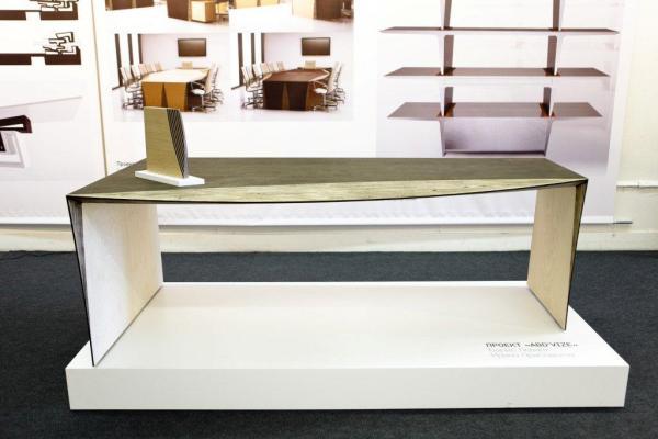 Прототип стола Бориса Левянта и Ирины Приседской