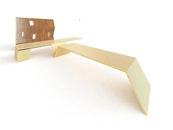 Проектное изображение стола