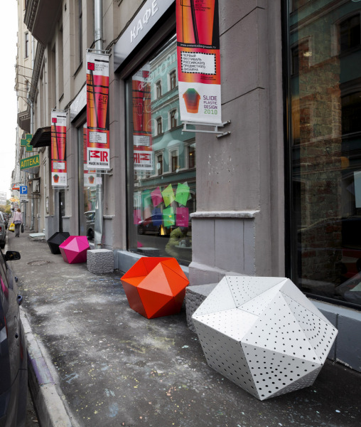 дизайнерские кресла от Даниеля Дендра