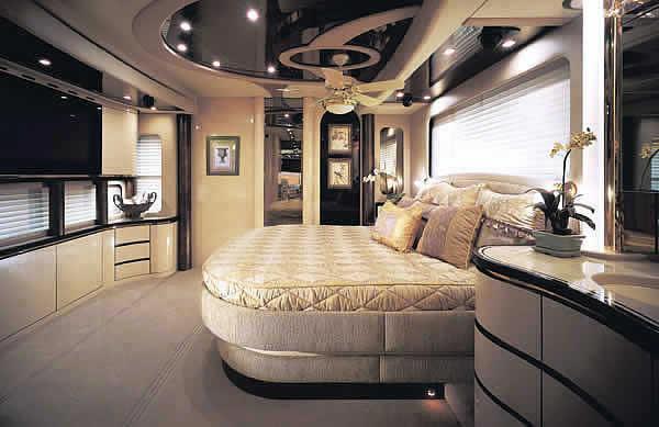 Спальные покои автофургона