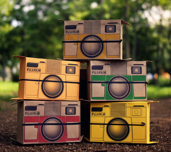 Cамый дешевый фотоаппарат Polaroid - Flutter in Pinhole