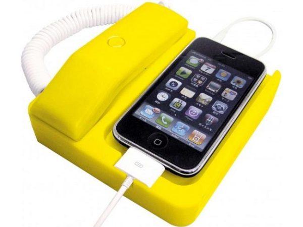 Ретро-подставка для iPhone