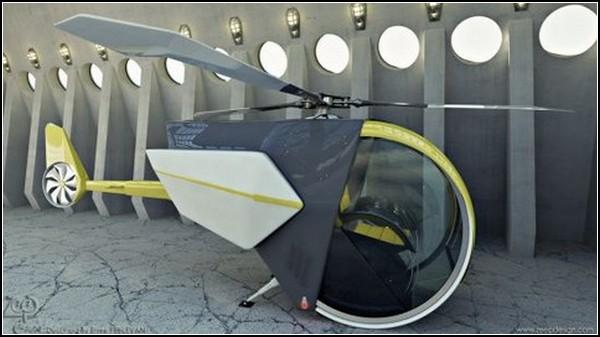 Летающий автомобиль CCC: превращение