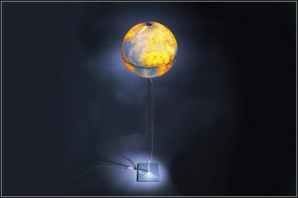 Удивительные глобусы мира: торшер