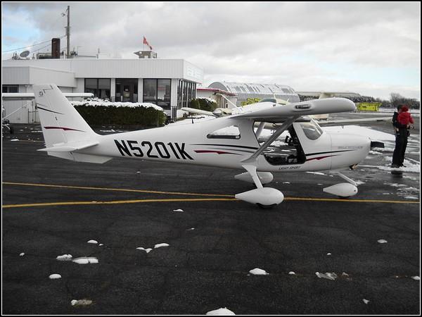 Частный спортивный самолет от Cessna