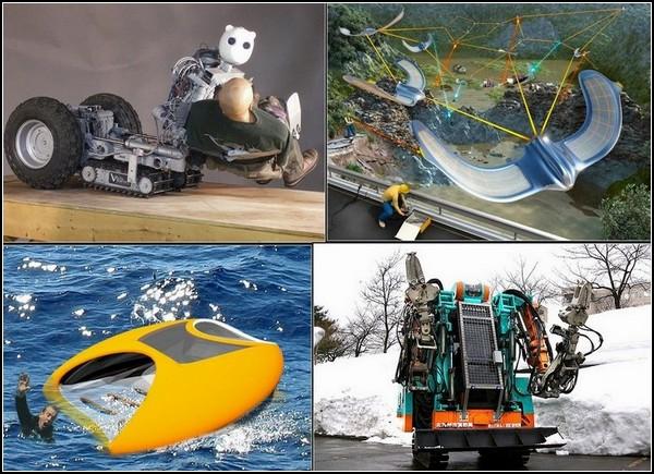 Марш спасателей: десятка роботов, которые выручат в трудную минуту