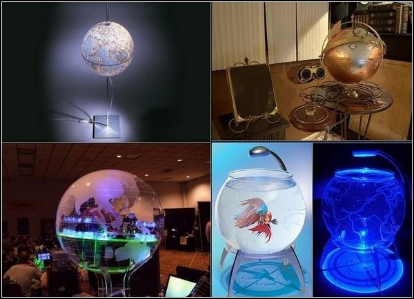 Глобусы мира: вокруг да около креатива