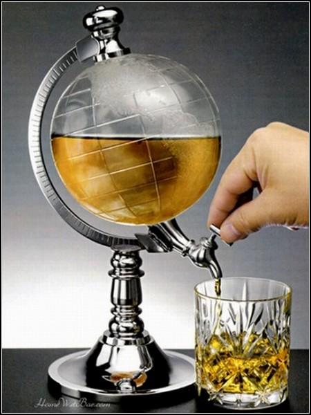 Удивительные глобусы мира: графин