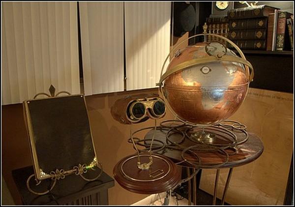 Удивительные глобусы мира: стимпанк-стайл
