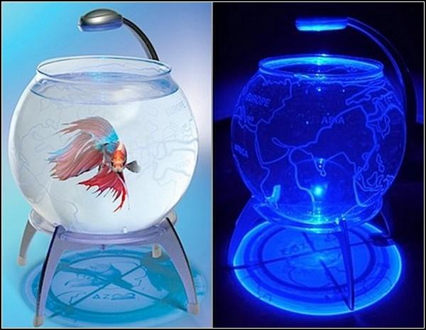 Удивительные глобусы мира: аквариум