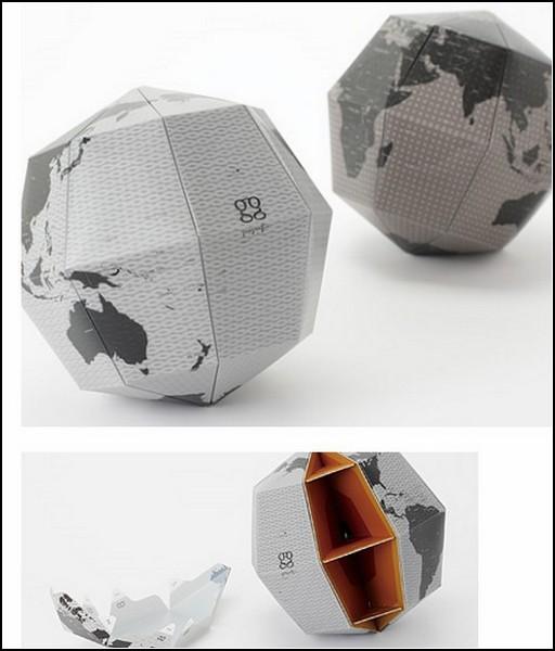 Удивительные глобусы мира: бумажный вариант