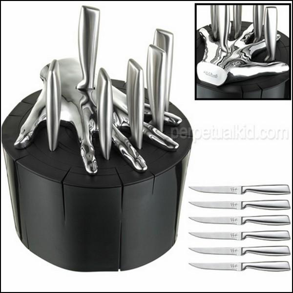 Подставка для ножей в виде руки