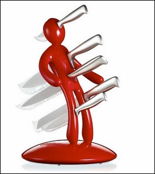 Подставка для ножей вуду