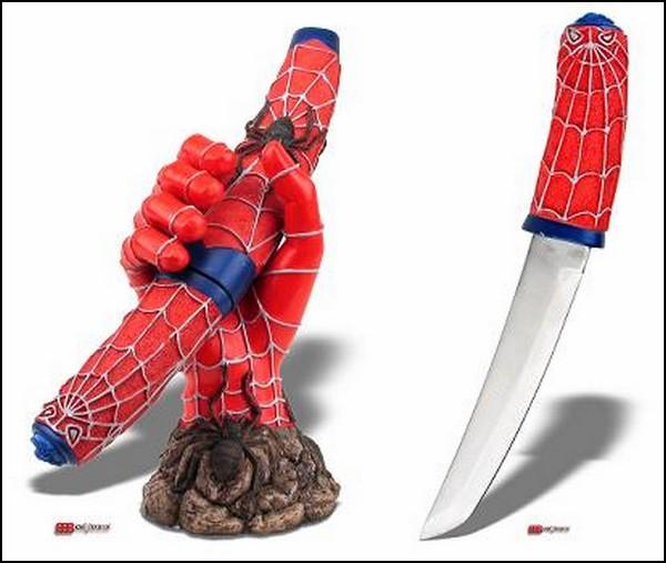 Супергеройская подставка для ножей