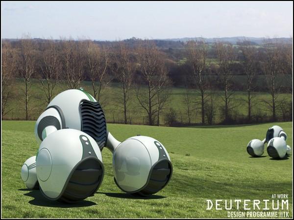 Новый трактор для нового века: Deuterium