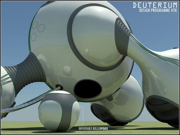 Новый трактор Deuterium на дейтериевом двигателе