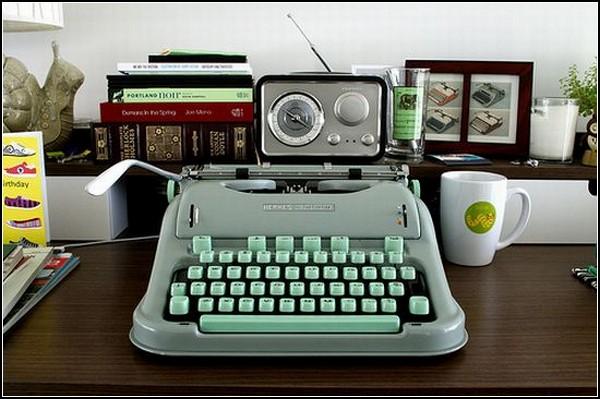 Пишущая машинка Hermes