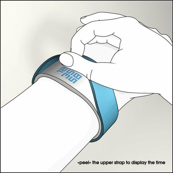 Оригинальные часы Hidden Time Watch