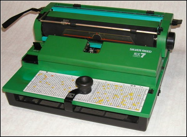 Иероглифическая пишущая машинка