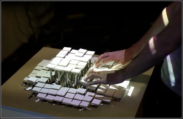 Экран на клавиатуре, клавиатура на экране: Recompose