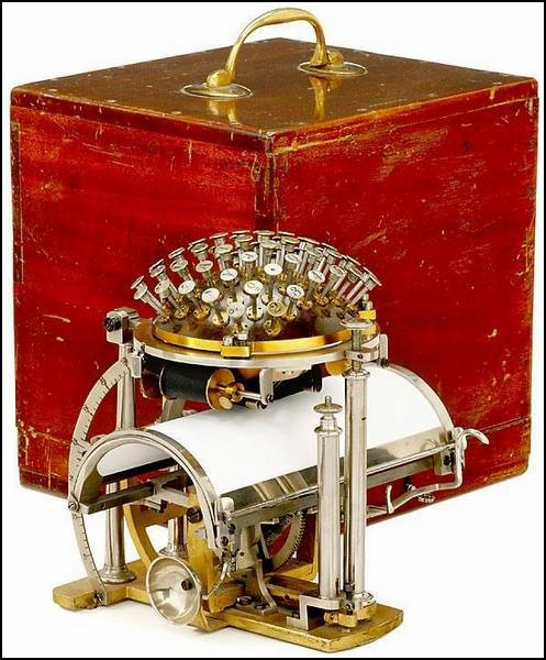 Пишущая машинка Хансена: только из коробки!