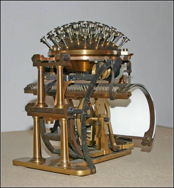 Пишущая машинка Хансена