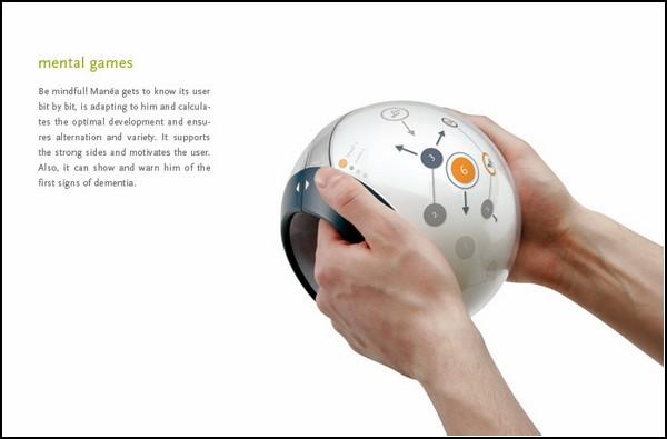 Мультимедийный девайс для тренировки мозга: Manea