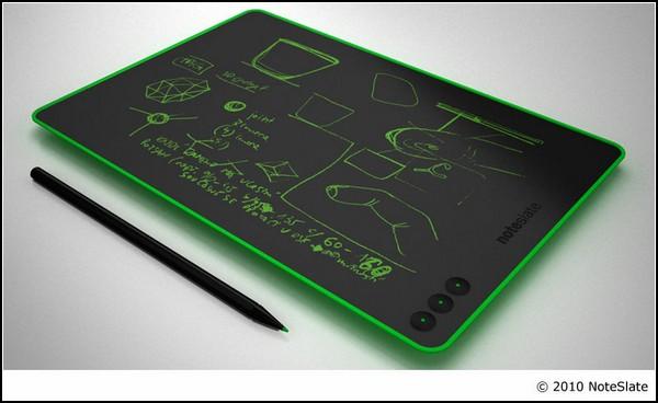 Электронный блокнот NoteSlate: зеленый