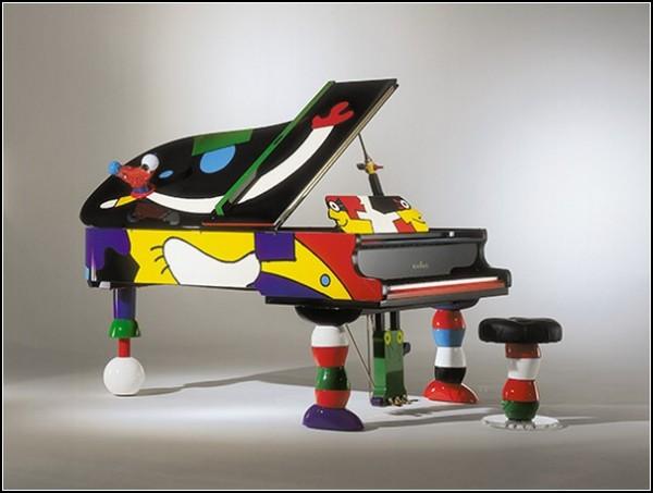 Пианино мечты: *несерьезный инструмент* в стиле Отмара Альта