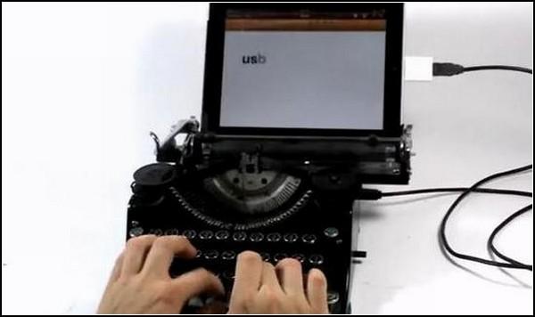 Гибридная пишущая машинка