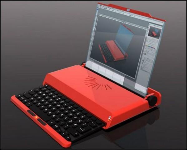 Пишущая машинка - ноутбук