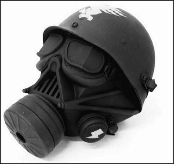 Необычные маски противогаза в картинках: косим под Дарта Вейдера