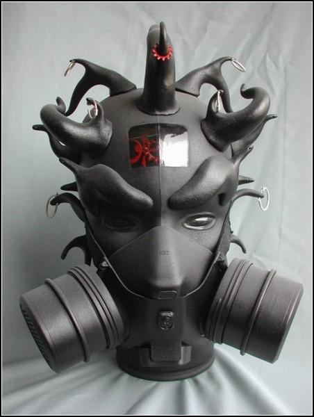 Необычные маски противогаза в картинках: Дарт Мол