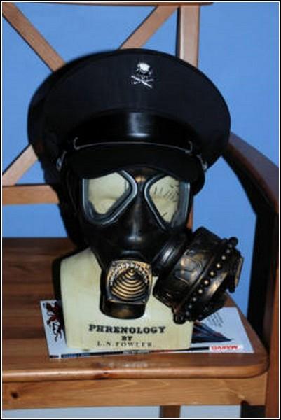 Необычные маски противогаза в картинках: пиратский капитан