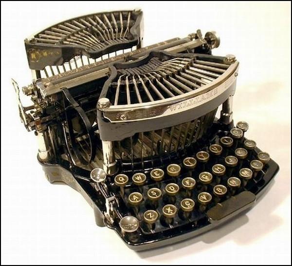 Пишущая машинка Вильямса