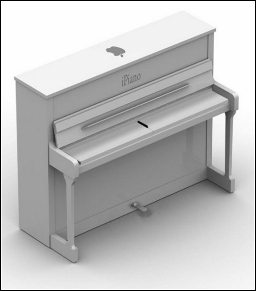Пианино мечты яблокомана