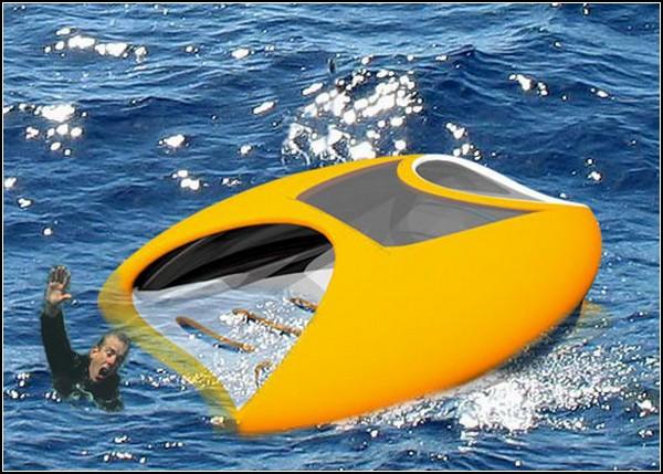 Роботизированный спасатель на водах