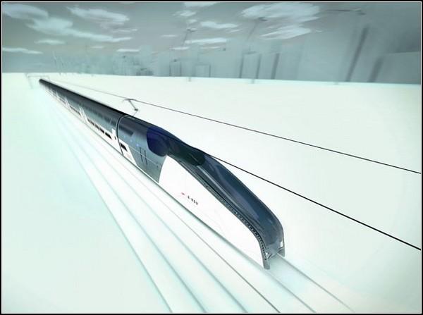 Быстрый поезд для Австралии: двухэтажная электричка на магнитной подушке