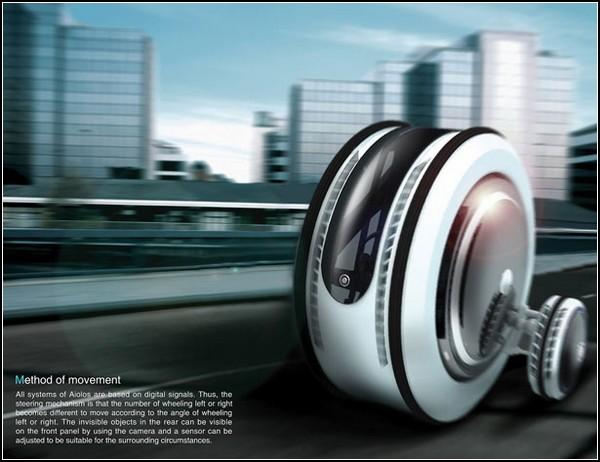Энергия ветра для автомобилей будущего: Aiolos