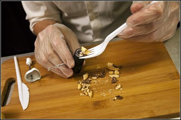 Измельчение пищи перед анализом
