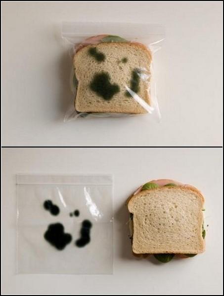 Гаджеты от воров. Невкусный пакетик для вкусного сэндвича