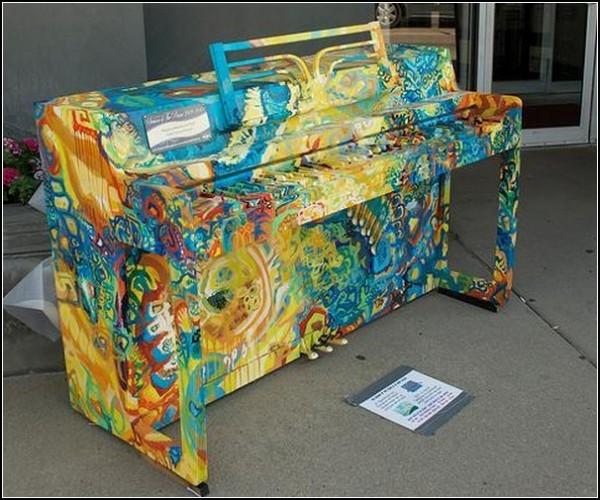 Заляповатое пианино: музыкально-художественный беспорядок