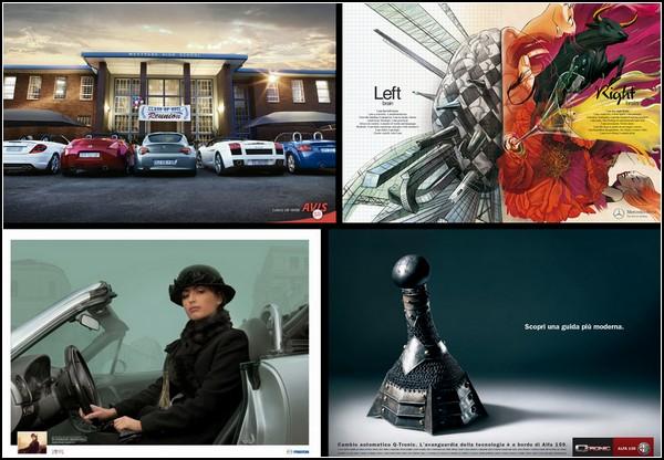 ТОП-10 креативных решений в рекламе автомобилей