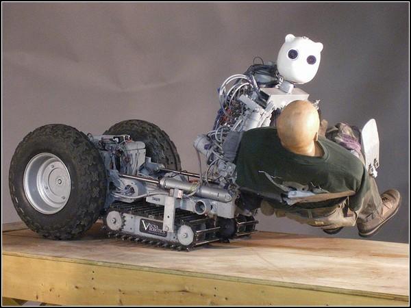 Марш спасателей: робот, который вытащит из-под пуль
