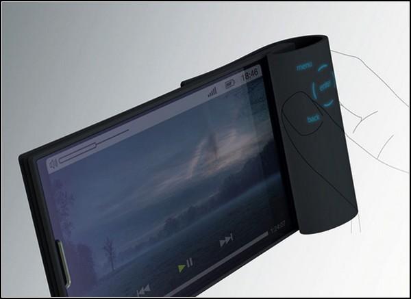 Телефон будущего Bio Flip Phone