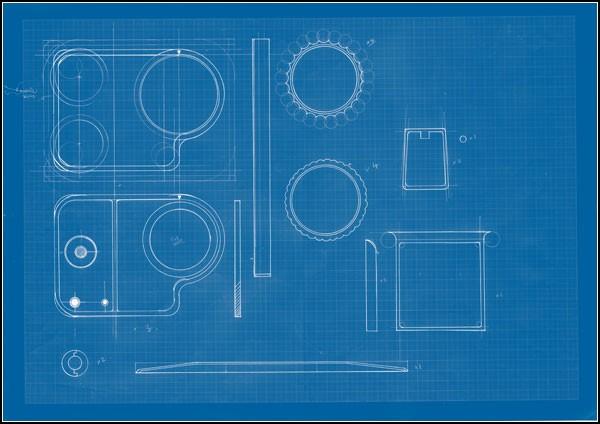 Камера в винтажном стиле Pinhole Hasselblad: чертежи