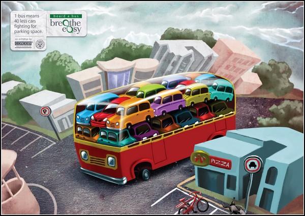 Креативная реклама машин: автовоз